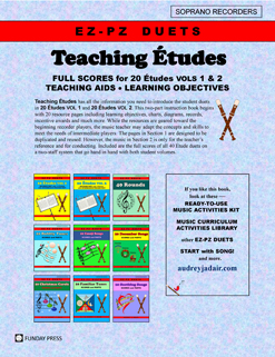 Teaching Etudes back cover